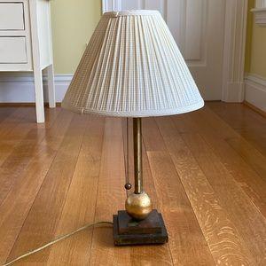Copper Bedside lamp or reading lamp